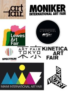 SAY ART. THEN SAY FAIR.   Let's see how imaginative they get when creating a Logo for an event where the Art is the protagonist.  More Logos on the blog :)