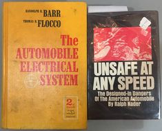 Books #468 & #469 in the collection from 1968 & 1965 respectively.  Yes, that is the infamous Unsafe at Any Speed by Ralph Nader. Likely the most hated book in automobile history, especially if you love Corvairs, but when else has a book been the big story here? Love it or hate it, its importance meant that it was absolutely necessary for us to have a copy and today I found one. News Sites, Scene Photo, Automobile, Hate, Love You, History, Big, Books, Collection