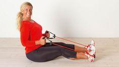 Lär dig hur du får allsidig träning med gummiband! Vår träningsinstruktör Josefin visar dig enkla övningar du kan göra hemma.