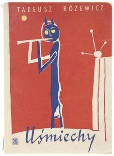 Polish book cover  1957, Jerzy Tchorzewski, Smiles