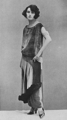 The flapper.  Roaring twenties.  Original bob. Harem pants.  Fashion history.