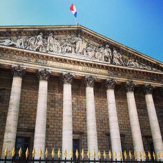 Assemblée Nationale - Palais Bourbon - Paris