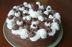 Czech Desserts, Czech Recipes, How Sweet Eats, Pavlova, How To Make Cake, Ham, Cake Decorating, Food And Drink, Cooking Recipes