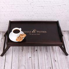 Personalizowany stolik śniadaniowy NA ZAWSZE RAZEM