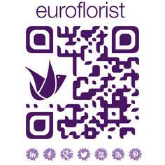 Euroflorist QR code