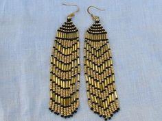 Great Gatsby Style Fringe Earrings, | LisaWeirJewellery