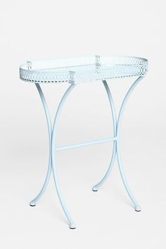 Plum & Bow Mirrored Side Table. Would be great as part of a vanity