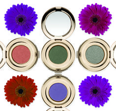 PUREPRESSED® EYE SHADOW SINGLE, $19. Enhance the shape and color of your eye with our highly pigmented shadows in bold, blendable shades of gorgeous. Apply wet or dry for a long-lasting, crease-free finish. Four colors new for Fall: Steamy, Iris, Forest, Mermaid.