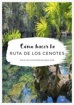 Conocer los Cenotes - Qué hacer en México #vercenotes #visitamexico Tulum Mexico, Mexico Resorts, Places To Travel, Travel Destinations, Places To Visit, Travel Tips, Rivera Maya Mexico, Visit Mexico, Quintana Roo