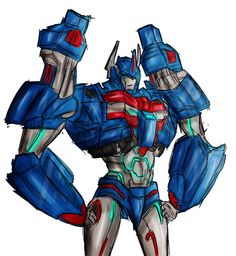 Ultra Magnus by PoisonousShiver on deviantART, because we needed a new pair of thighs to swoon over when Prime became Robustimus in TFP Beast Hunters