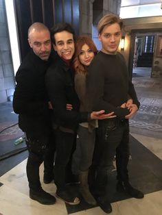 Image about katherine mcnamara in Shadowhunters ➰ by Madalyn Clary Et Jace, Clary Fray, Shadowhunters Tv Series, Shadowhunters The Mortal Instruments, Por Tras Das Cameras, Dominic Sherwood, Prom Poses, Jace Wayland, Clace