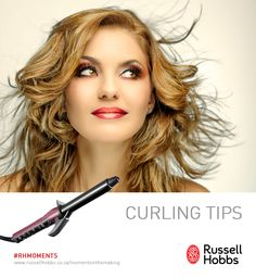 Create beautiful wavy hair with these simple tips. 1) Choose a curling iron that is ceramic with adjustable heat settings 2) Make sure to remove any knots or tangles beforehand 3) Curl a small bit of your hair at a time, that way you can get the most out of your curls 4) Don't curl your hair when it is damp or wet. It can damage the ends of your hair 5) Lightly go through your hair using your fingertips to loosen up the curls and achieve more of natural look. How To Curl Your Hair, Curling Iron, Hobbs, Natural Looks, Wavy Hair, That Way, Knots, Curls, In This Moment