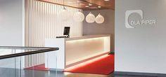 Modern Interior Design at DLA Piper Law Firm in Bahrain