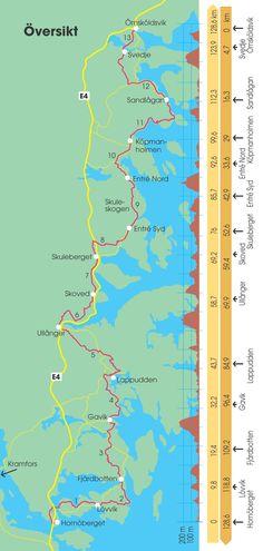 High Coast Trail - officiell besöksguide till Höga Kusten