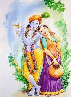 Rad he Shyam Lord Krishna Images, Radha Krishna Pictures, Radha Krishna Photo, Krishna Art, Shree Krishna, Hanuman, Radhe Krishna Wallpapers, Lord Krishna Wallpapers, Krishna Drawing