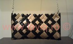 Paper Chains, Candy Wrappers, Candy Bags, Upcycle, Knit Crochet, Diva, Shoulder Bag, Burberry, Handmade