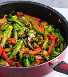 Stir Fry Sauce Recipe Best Stir Fry Recipe, Homemade Stir Fry Sauce, Stir Fry Recipes, Sauce Recipes, Cooking Recipes, Vegetable Stir Fry, Vegetable Recipes, Vegetarian Recipes, Healthy Recipes