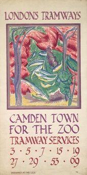 Camden Town for the Zoo - John Farleigh (1925)