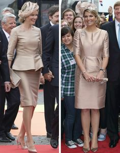 Royal Roaster — Queen Maxima and Queen Mathilde in Natan