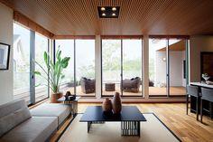 住宅用内装木製天井材 [木製リブ天井材]