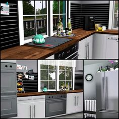 Simberry / Romance Ave. / Sims 3 / Downloads / Kitchen interior