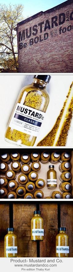 Mustard and Co.Made in Seattle #packaging #mustard #design #coolproduct
