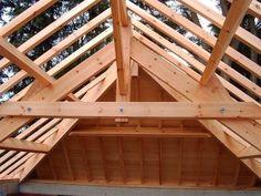 R alisations maison ossature bois tradition construction for Comment traiter une charpente