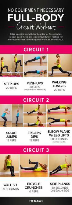 Full Body Circuit Workout from Popsugar