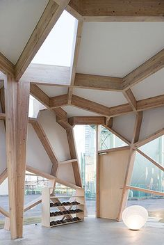 Sumika Pavilion, Tokyo by Toyo Ito Architects - Architecture Ideas Tokyo Architecture, Detail Architecture, Modern Japanese Architecture, Pavilion Architecture, Amazing Architecture, Interior Architecture, Interior And Exterior, Amazing Buildings, Classical Architecture