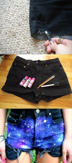 Galaxy Short Tutorial!!  23 diy galaxy pins searching  Love it, let to like, repin, share/ follow @galaxycase