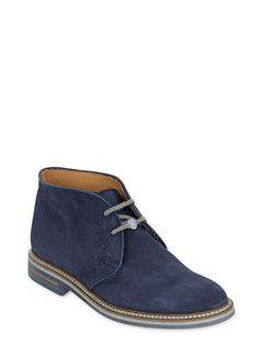 on sale ef133 e78ae SUEDE CHUKKA BOOTS