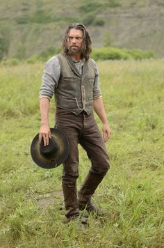 Still of Anson Mount in Hell on Wheels. My mother in law is responsible!!!! (: