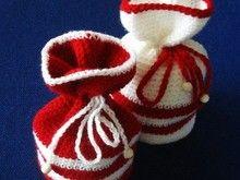 Christmas gift bags crochet pattern 011