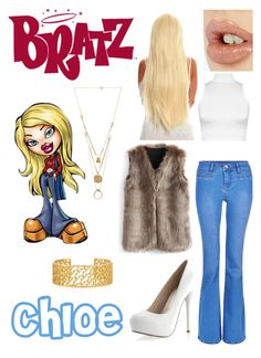 """""""Bratz - Chloe"""" by mersunflower ❤ liked on Polyvore featuring WearAll, Charlotte Tilbury, Chicwish, Maison Margiela, Tory Burch, women's clothing, women's fashion, women, female and woman Fashion Women, Women's Fashion, Fashion Outfits, Cher Clueless Outfit, Halloween Ideas, Halloween Costumes, Charlotte Tilbury, Dress Outfits, Dresses"""
