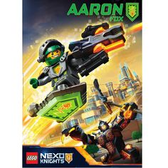 LEGO NEXO KNIGHTS will soon catapult into action! #UpgradeYourPower #AaronFox #LEGO