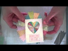 Make It Monday #162: Paper Scrap Pie Charts - YouTube ... great way to use beautiful paper scraps ...