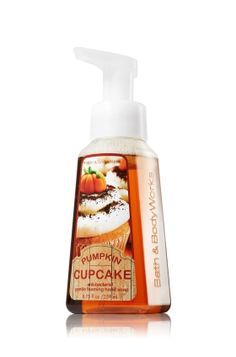 Pumpkin Cupcake Gentle Foaming Hand Soap - Anti-Bacterial - Bath & Body Works. Yay for fall scents  I just went Cray in that store