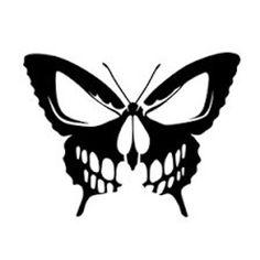 Schmetterling Schädel Tattoo - Skull Tattoo - Garden Planting - Home DIY Cheap - Blonde Hair Styles - DIY Jewelry Vintage Skull Stencil, Stencil Art, Skull Art, Drawing Stencils, Stenciling, Stencils Tatuagem, Tattoo Stencils, Vogel Silhouette, Skull Silhouette