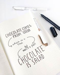 Makes perfect sense to me . . . . . #bulletjournal #quotestoliveby #quotestagram #bujo #chocolateissalad #toronto