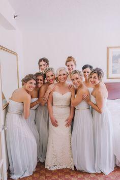 Caitlyn & Bronson // in Beach Glass // Amanda Dumouchelle Photography Destination Bridesmaid Dresses, Wedding Dresses, Wedding Looks, Shades Of Grey, Real Weddings, Amanda, Gray, Beach, Photography