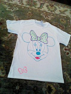 Disney-themed puffy paint shirt, made it myself :)