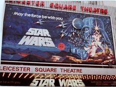 Cuadros Star Wars, Leicester Square, All Episodes, A New Hope, Elephant, Stars, Movie Posters, Films, Fandoms