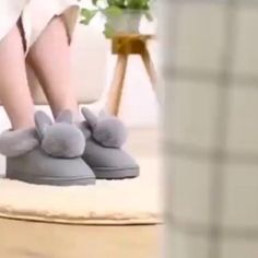 The adorable bunny ears combined with ultra-soft plush fuzziness makes these slippers the ultimate go-to this winter! Cozy and cute, you'll never want to take these off as you Netflix n' chill! Currently 50%OFF with Free Shipping!! Only on neulons.com Comfy Shoes, Cute Shoes, Comfy Clothes, Bunny Slippers, Shearling Slippers, Plus Clothing, Gingham Fabric, Kids Patterns, New Years Sales