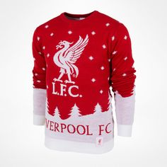 Kjøp Liverpool Julegenser for 499 kr hos KopShop. Liverpool Fc, Christmas Sweaters, Knitting Patterns, History, Image, Logo, Fashion, Knitting Stitches, Moda
