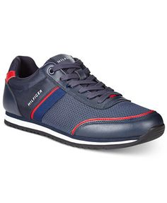 Luxury Suede Signature Stripe Trainers - Sales Up to -50% Tommy Hilfiger fJ7rafP
