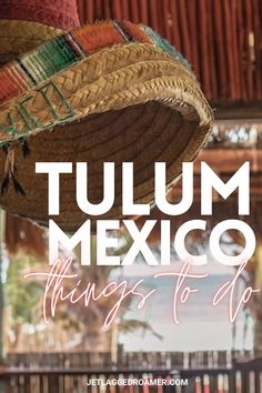 Wanna know the best things to do in Tulum, Mexico for your trip? Here I have one awesome Tulum, Mexico itinerary to this Bohemian paradise. Get the scoop on all the delicious places to eat, beach clubs to hang, and gorgeous cenotes to take a dip and cool off from the Caribbean heat. #tulum #mexico #tulummexico Mexico Vacation, Mexico Travel, Cozumel, Puerto Vallarta, Best Places To Travel, Cool Places To Visit, Central America, North America, Travel Guides