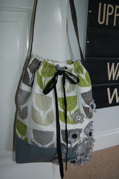 Shoulder bag created out of fabric for Hillarys craft competition Diaper Bag, Competition, Challenges, Shoulder Bag, Fabric, Crafts, Bags, Inspiration, Tejido
