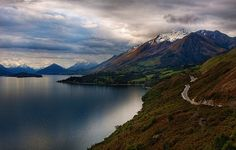 Road to Queenstown (on the way to/from Glenorchy)