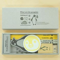 Eco Stationery Set - Penguins - Pens and Pencils - Stationery