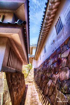 My HDR Photo: Japanese Castle. #hdr #hdrphotography #hdrtonemapping #photography #photomatix #topazadjust